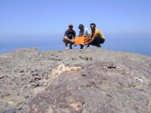 Cumbre Cerro Esmeralda