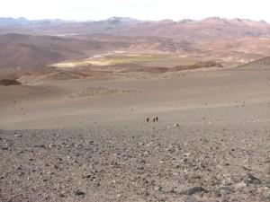 La eterna duna de escorial volcánico