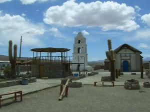 Plaza de Cariquima